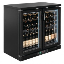 Vitrina Doble de vinos 56 botellas Polar