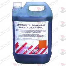 Detergente Lavavajillas manual concentrado 5Ltr